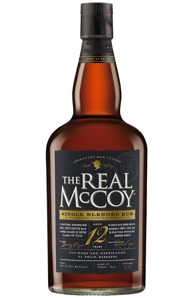 The Real McCoy 12 Year Old Barbados Rum