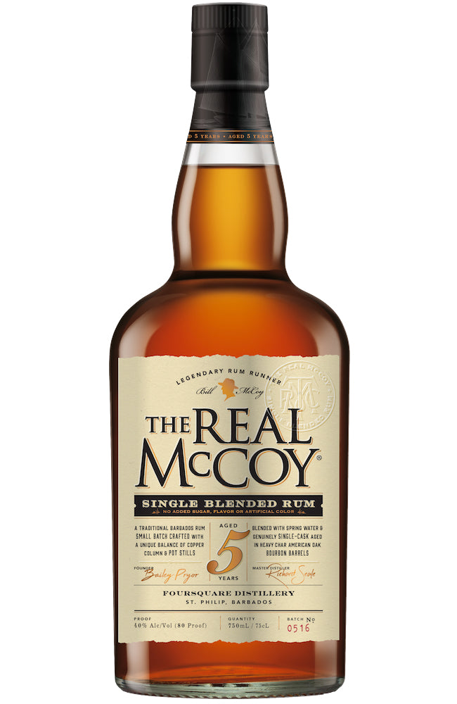 The Real McCoy 5 Year Old Barbados Rum