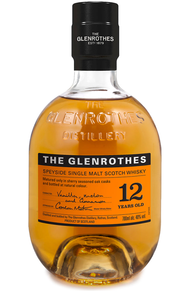 The Glenrothes 12 Year Old Speyside Single Malt Scotch Whisky