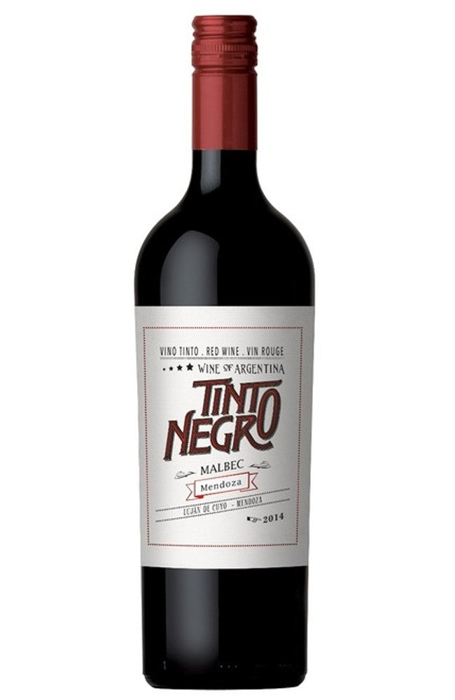 Tinto Negro Malbec Mendoza Red Wine from Argentina