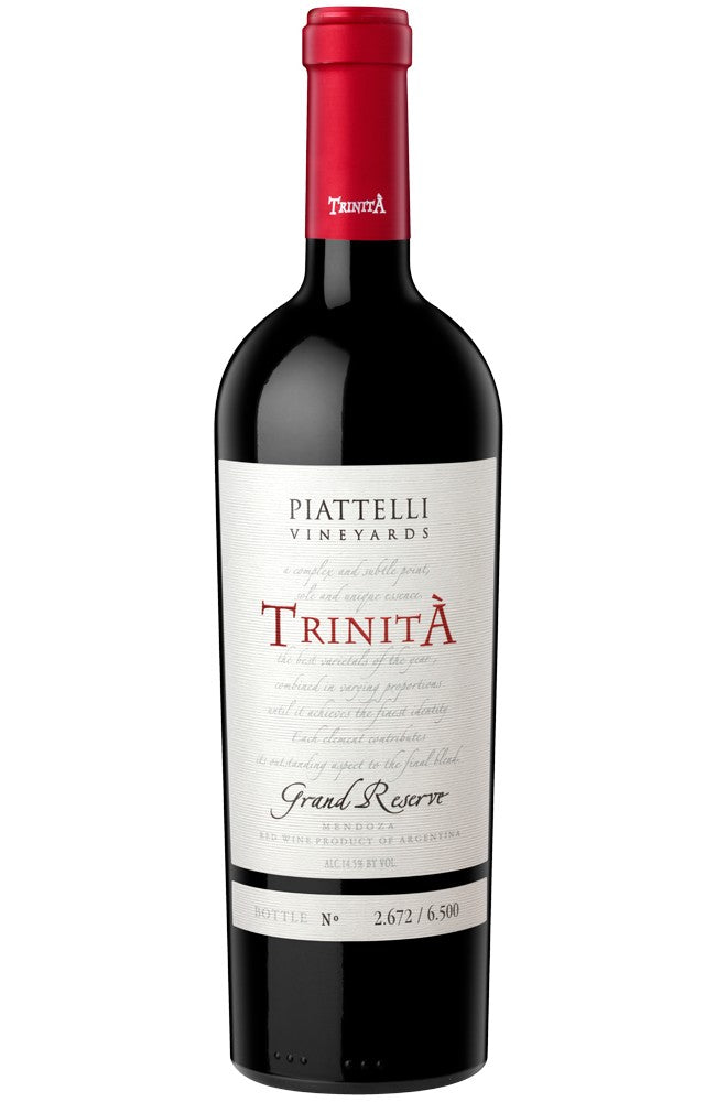 Piattelli Vineyards Trinità Grand Reserve Red Wine from Argentina