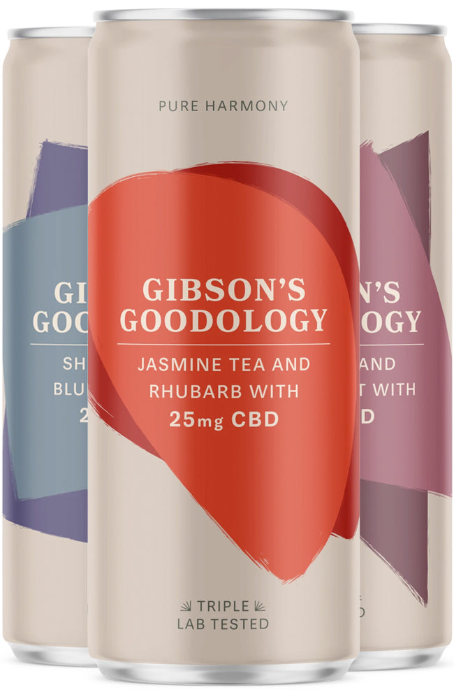 Gibson's Goodology Super-Premium CBD Taster Pack