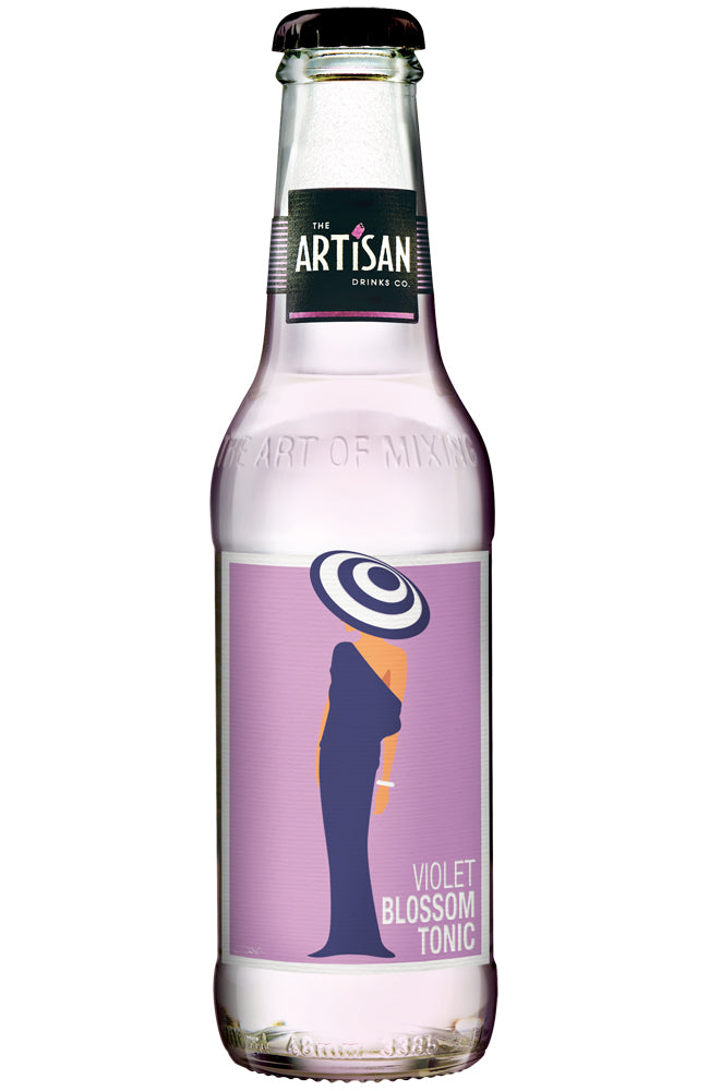 The Artisan Drinks Co. Violet Blossom Tonic Bottle