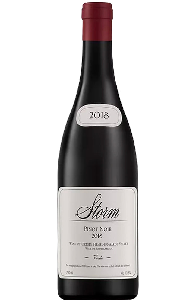 Storm Wines Vrede Pinot Noir Bottle