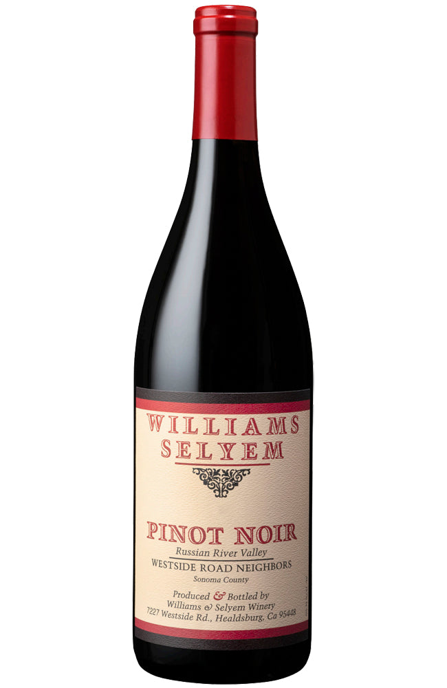 Williams Selyem Westside Road Neighbors Pinot Noir Bottle