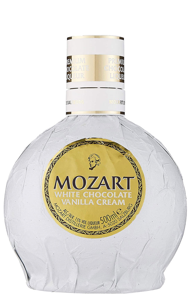 Mozart White Chocolate Vanilla Cream Liqueur