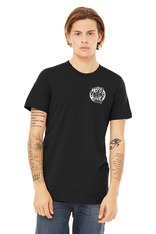 Moto & Ink SupportTheYouth T-Shirt Element Black/White