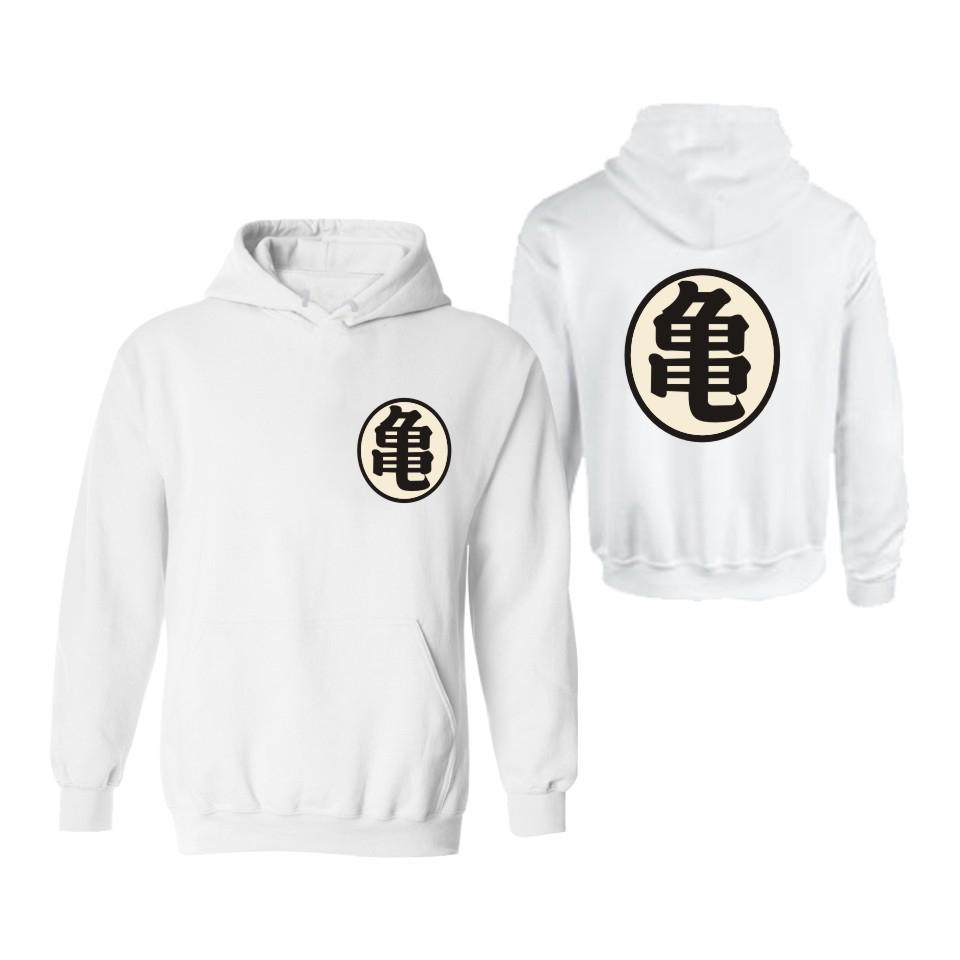 Dragon Ball Print Hoodies - Muten-Roshi