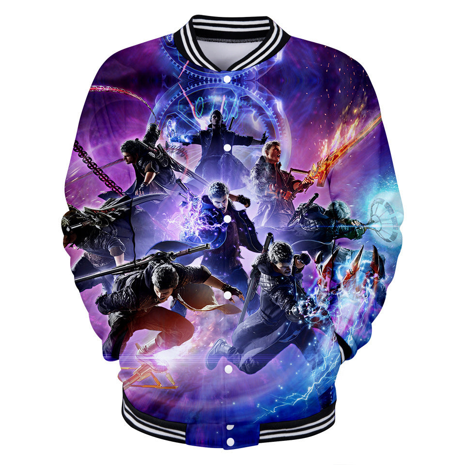 Devil May Cry Printed Hoodie