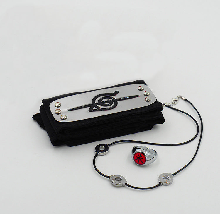 Naruto Accessories Three-Piece Set