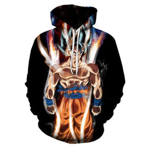 Dragon Ball 3d Print Hoodies