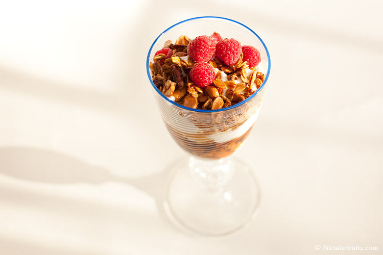 Maple Granola Yogurt Parfaits