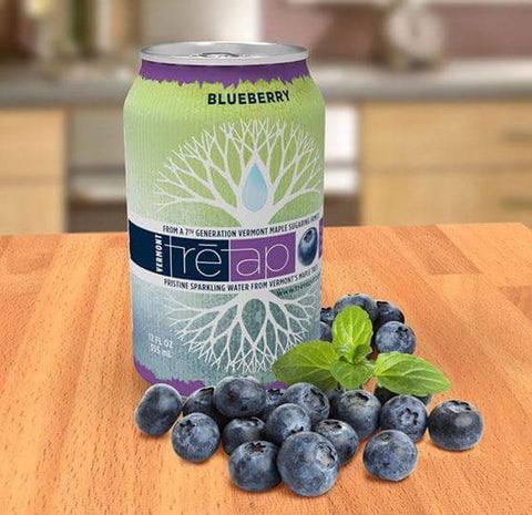Tretap Sparkling Water -Blueberry