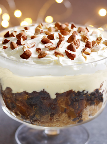 Delia's Panettone and Zabaglione Trifle