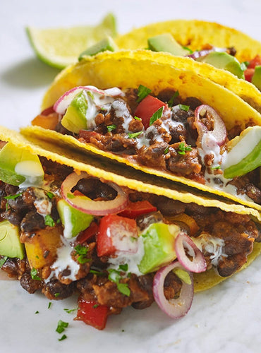 Vegan Tacos with Bolognese Sauce