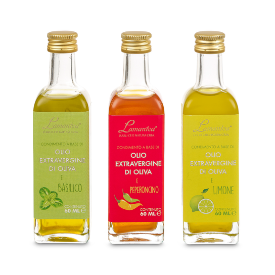 Weekend Olive Oil Gift Pack 3 x 60ml by Lamantea