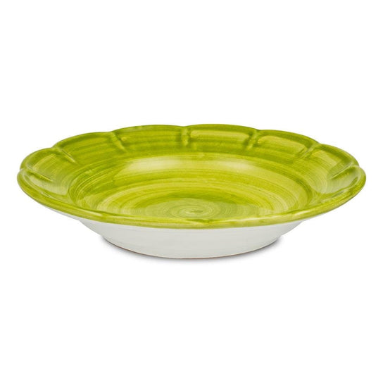 Pasta Dish 23.5cm by Sol'Art in Basil Green