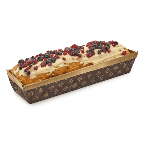 Wild Berries Panettone Loaf Cake 550g by Sal De Riso