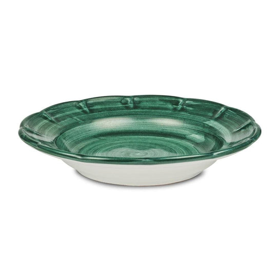 Pasta Dish 23.5cm by Sol'Art in Bottle Green