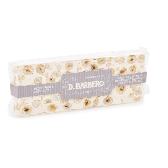 Crumbly Hazelnut Nougat Torrone 200g by D. Barbero