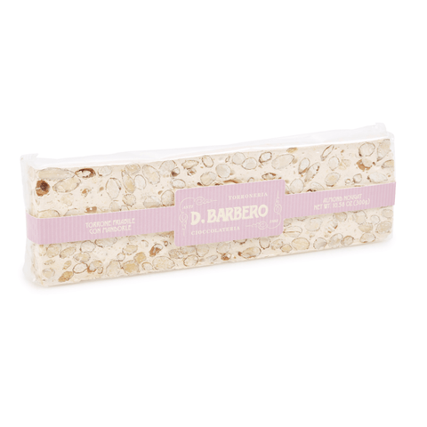 Crumbly Almond Nougat Torrone 300g by D. Barbero