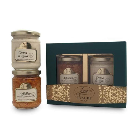 Garlic Lovers Gift Box by Inaudi