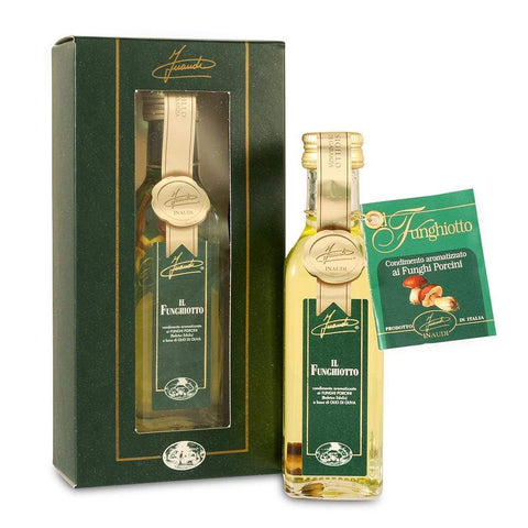 Porcini Mushroom Olive Oil in Box 100ml by Inaudi