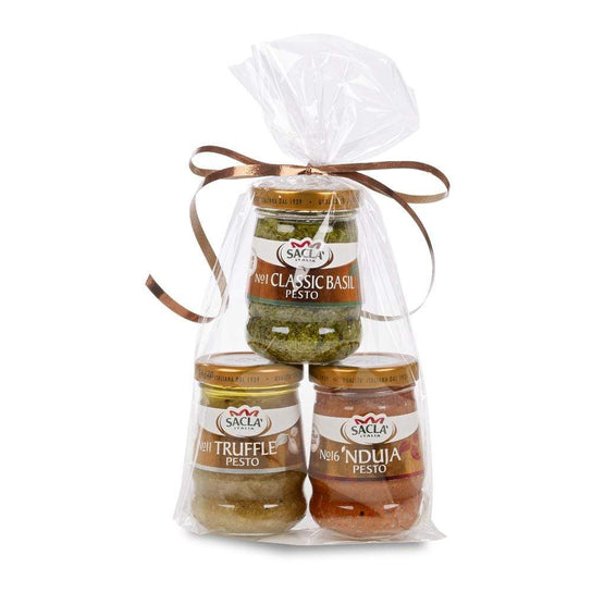 Sacla' Gift Pack: Trio of Pesto