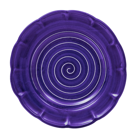 Spiral Pasta Dish 23.5cm in Sea Blue by Sol'Art