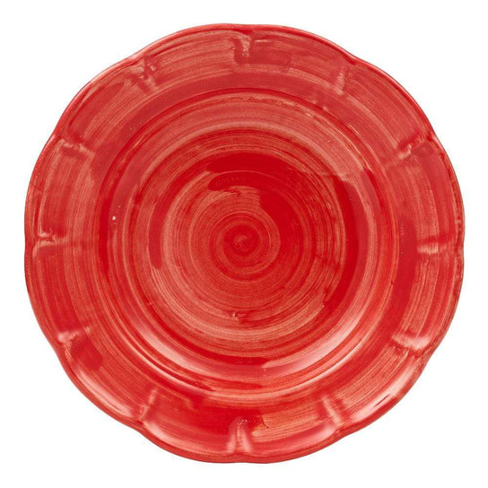 Pasta Dish 23.5cm by Sol'Art in Tomato Red