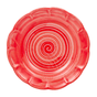 Spiral Pasta Dish 23.5cm in Tomato Red by Sol'Art