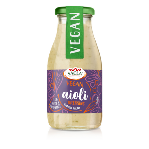 Sacla' Vegan Aioli Salad Dressing 230ml