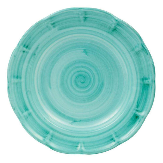 Pasta Dish 23.5cm by Sol'Art in Vietri Green