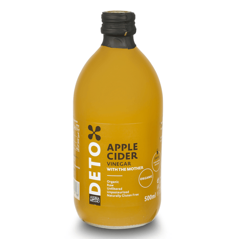 Organic Apple Cider Vinegar 500ml by Detox