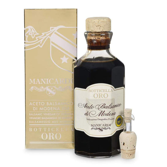Balsamic Vinegar of Modena Gold Cask 250ml by Manicardi