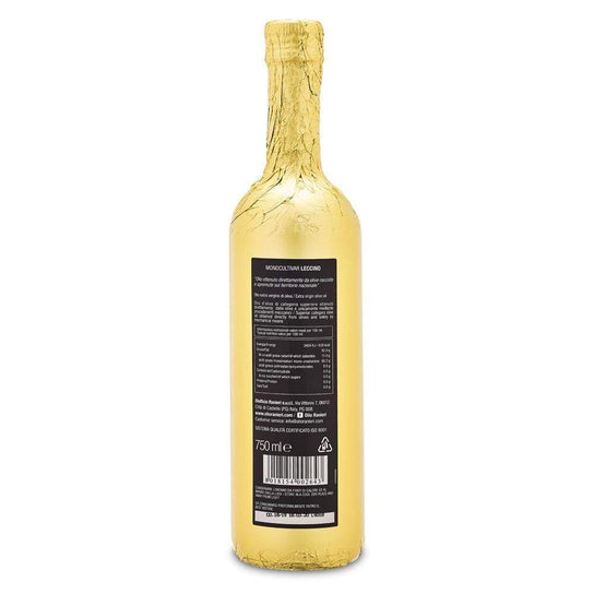 Single Variety Leccino Extra Virgin Olive Oil 750ml by Ranieri