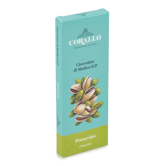 Pistachio Modica Chocolate Bar 50g by Dolceria Corallo