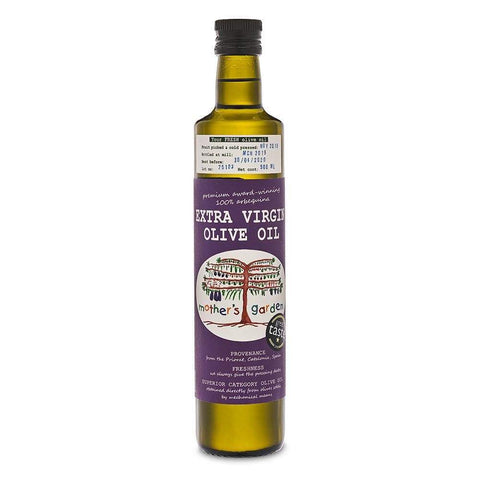 Spanish Extra Virgin Olive Oil 500ml by Mother's Garden