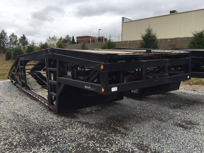 2012 Titan T7 Long Neck Trailer