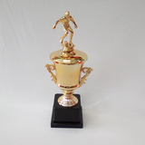 TROPHY GOLD CUP FIGURINE 37CM