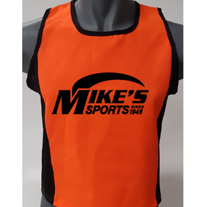 NEON BIB VESTS MIKES BRANDED (SET OF 10)