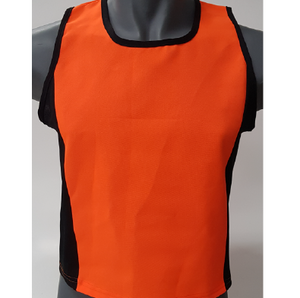 NEON BIB VESTS UNBRANDED (SET OF 10)
