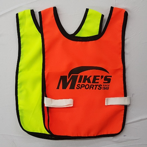 NEON BIBS MIKES BRANDED (SET OF 10)