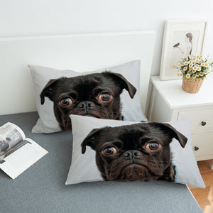 Hippie Pug Pillowcase