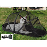 MOSQUITO PROTECTION FOR DOGS - Dog Camping Tent Mosquito Net High Quality - Foldable