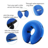 Protective Inflatable Collar for Dogs - Soft Pet Recovery Collar
