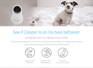 Doggy Cam - Home Pet Camera 720P HD Alert Motion Detection