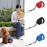 Pet Collars DIY Retractable Dog Leash Training Puppy