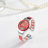 Cute Puppy Footprint Women Watch