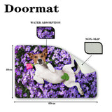 Non-slip Home Floor Carpet 3D Jack Russell Terrier